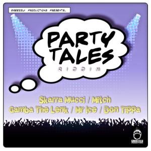 copertina party tales