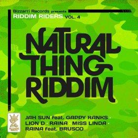 natural thing riddim front